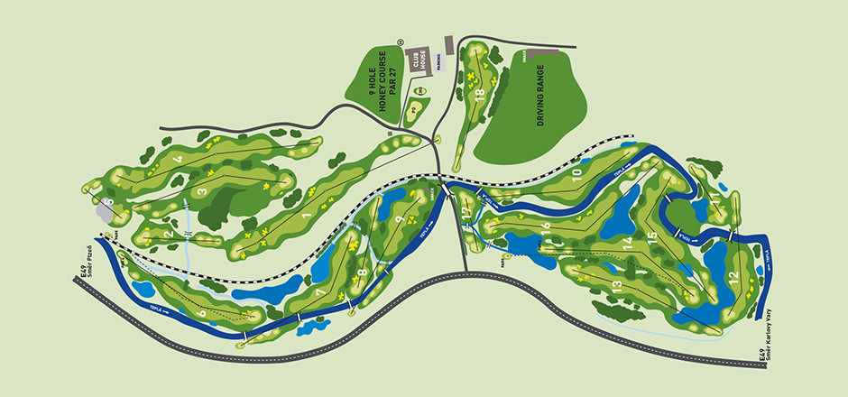 golf-resort-cihleny-mapa